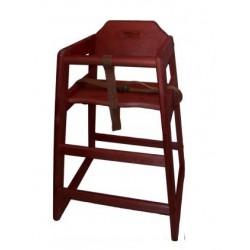 Chef Inox Mahogany High Chair