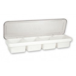 Bar Caddy Plastic 4 Compartment