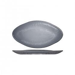 Platter 295 x 162mm Churchill Bamboo Organic Glass Dusk (6)
