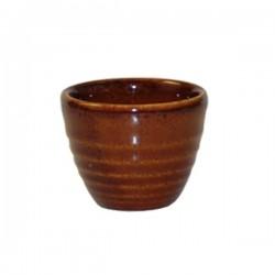 Ripple Sauce Pot 59 x 50mm / 57ml Churchill Bit On The Side Cinnamon (12)