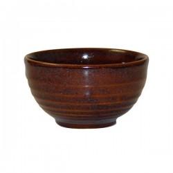 Ripple Bowl 130 x 74mm / 560ml Churchill Bit On The Side Cinnamon (6)