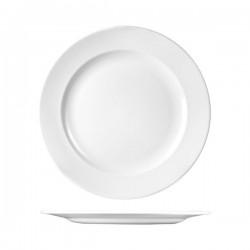 Round Plate 312mm Wide Rim Churchill Classic White (12)