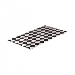 Display Serve 530 x 325mm Rectangular Checkerboard Marble Ryner Melamine (3)