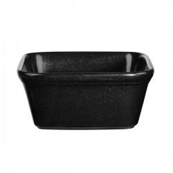 Square Dish 125 x 125mm / 450ml Black Churchill Cookware (12)