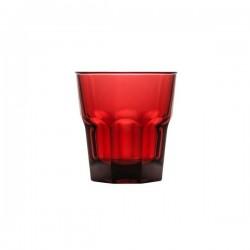 Polysafe 240ml Rocks Tumbler Red PS-4-RED (24)