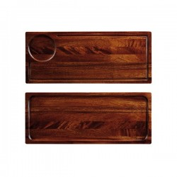 Wooden Deli Board 400 x 165mm Churchill Art De Cuisine (4)