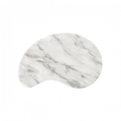 Abstract 265 x 170mm Grey Marble Churchill Signature Tile (4)