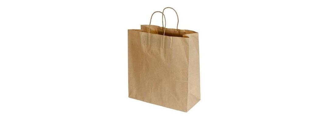 Paper Bags   Bags   Disposables