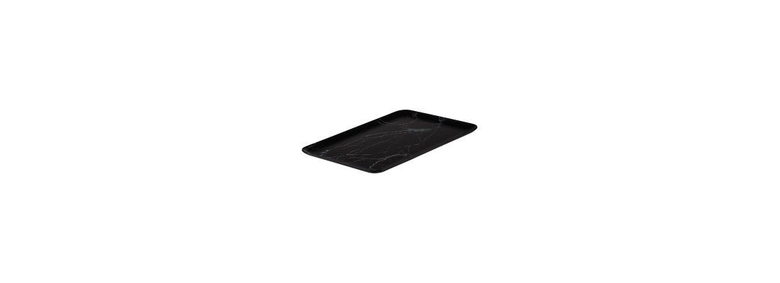 Black Marble   Ryner Melamine - Central Hospitality Supplies   Padstow