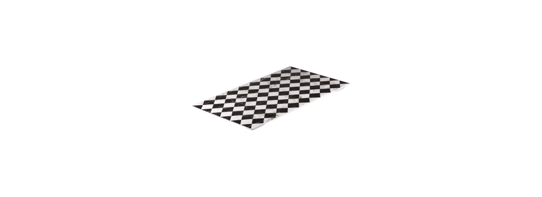 Checkerboard Marble   Ryner Melamine - Central Hospitality Supplies   Padstow