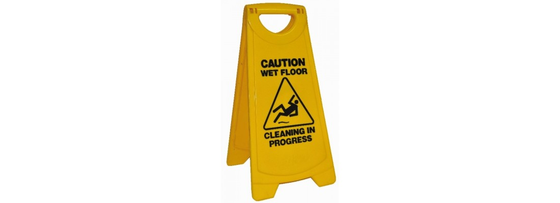 Safety Signs   Clean   Central Hospitality Supplies   Padstow