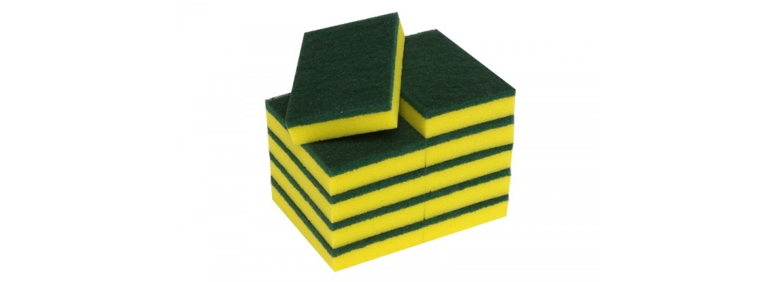 Sponges & Scourers | Clean | Central Hospitality Supplies | Padstow