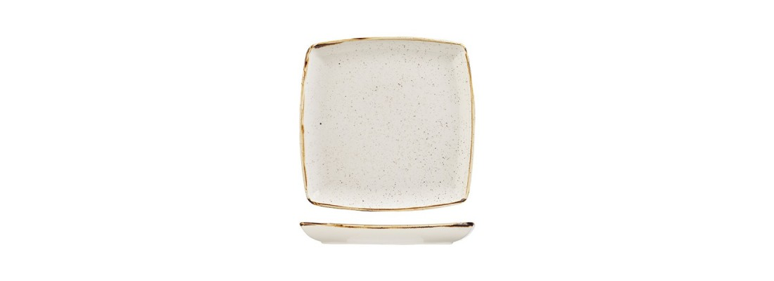 Plates | Stonecast | Barley White | Churchill - Central Hospitality Supplies | Padstow
