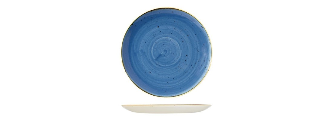 Bowls | Cornflower Blue | Stonecast | Churchill - Central hospitality Supplies | Padstow