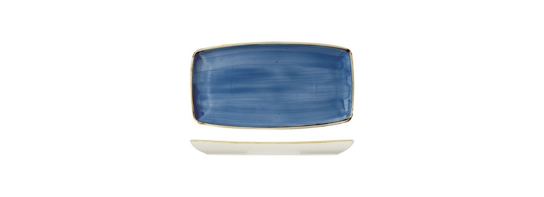 Plates | Cornflower Blue | Stonecast | Churchill - Central Hospitality Supplies | Padstow