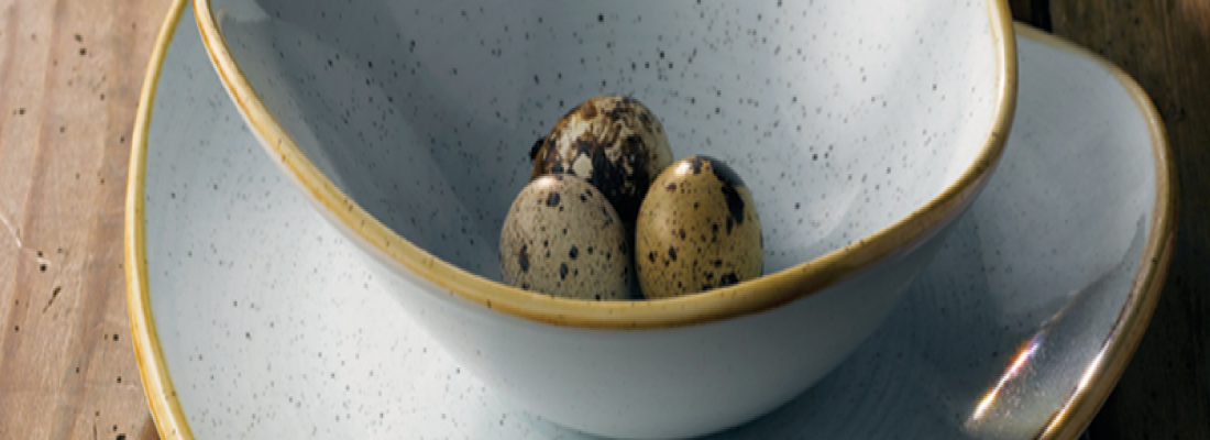 Duck Egg   Stonecast   Churchill   Crockery   Table   Central hospitality Supplies   Padstow