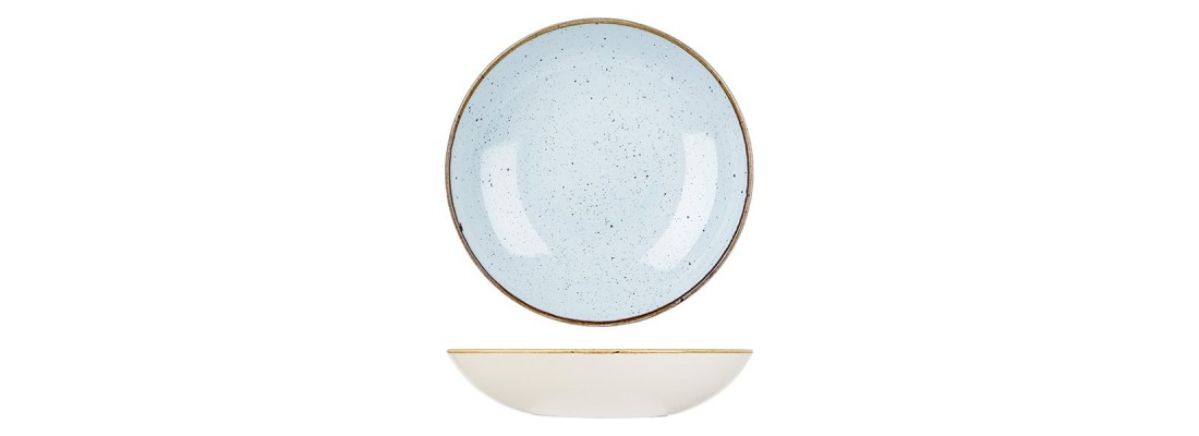 Bowls | Duck Egg | Churchill Stonecast - Central Hospitality Supplies | Padstow