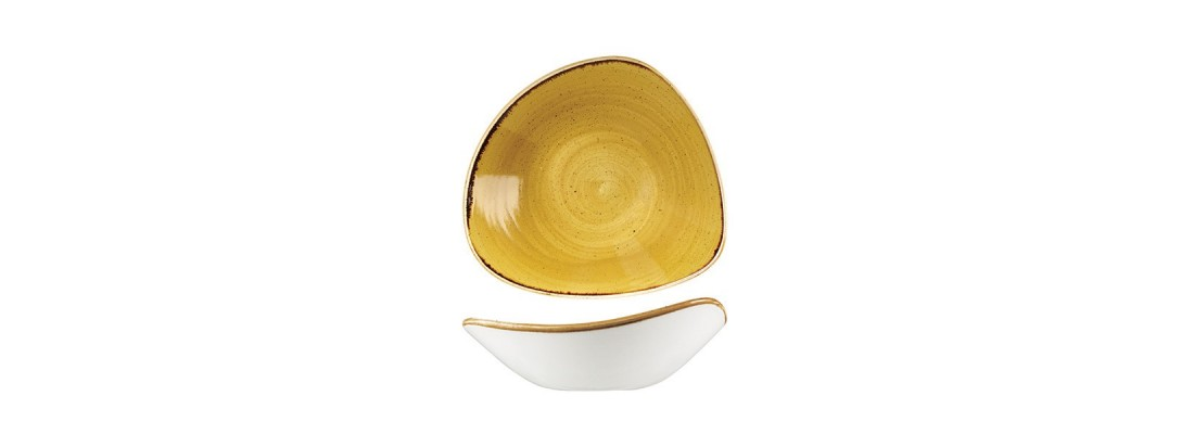 Bowls | Mustard Seed Yellow | Stonecast | Churchill - Central Hospitality Supplies | Padstow