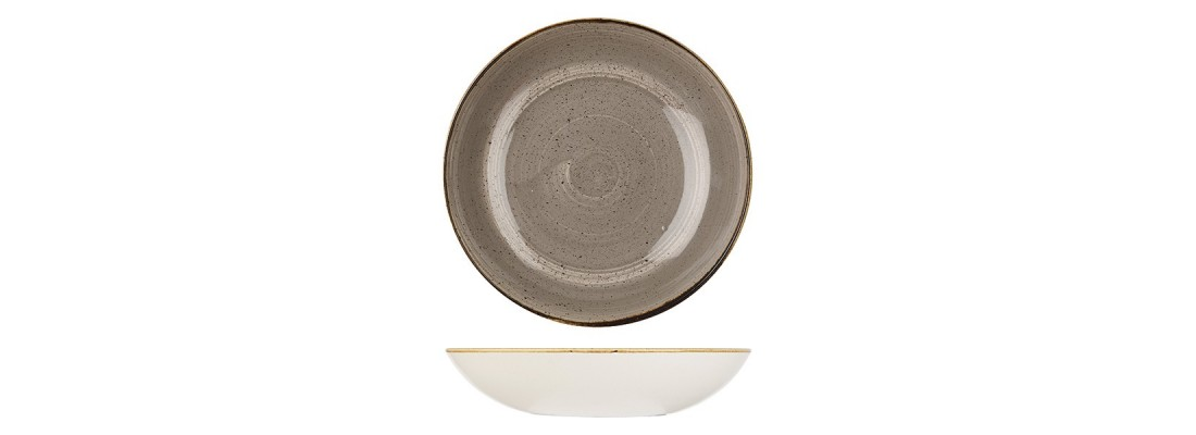 Bowls | Peppercorn Grey | Stonecast | Churchill - Central Hospitality Supplies | Padstow