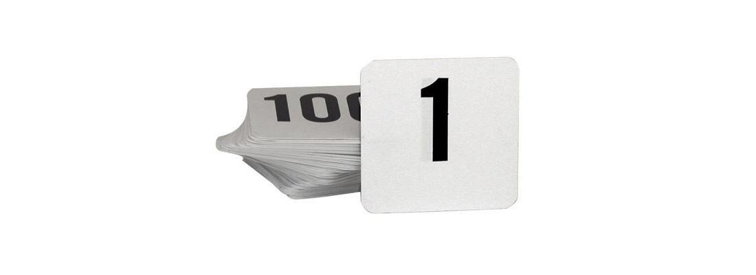 Table Numbers   Tableware