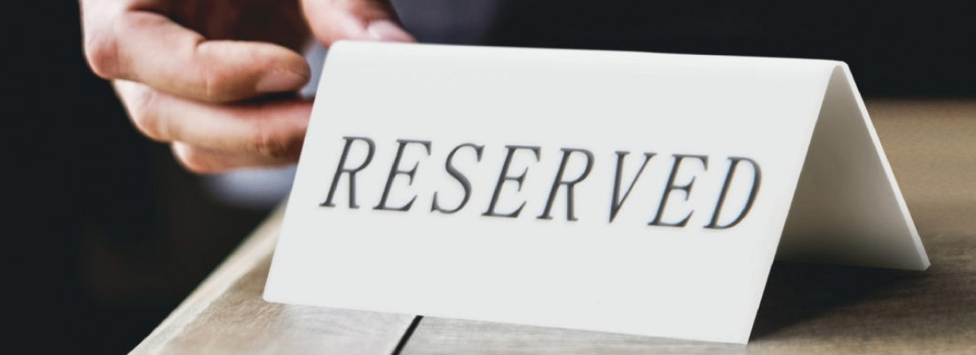 Table Signs | Tableware | Central hospitality Supplies | Padstow